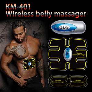 Новый беспроводной брюшной мышцы Тонер тела тонирование ABS Fit вес мышцы подготовки передач ремень для руки живота Thight