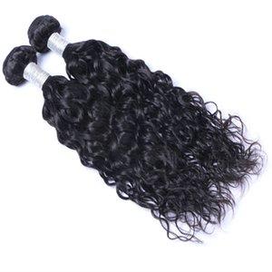 En gros brésilien péruvien indien malaisien vierge remy cheveux natual wave bundles de tissage de cheveux brésiliens extensions livraison gratuite