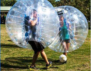 Neue Design Safty Umweltschutz 0,8mm PVC 1,5 mt Luftstoßkugel Ball Körper Zorb Ball Blase Fußball Blase Fußball Zorb Ball für Erwachsene Oder
