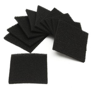 Esponja de filtro de carbón activado de 10 piezas de diferente calidad para 493 absorbente de humo de soldadura ESD extractor de humo