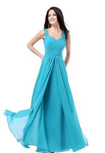 Женская линия длиной до пола, шифоновые платья выпускного вечера Вечерние платья для подружек невесты Бирюзовый бордовый розовый синий фиолетовый красный