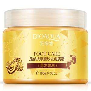 24pcs BIOAQUA 24K GOLD Shea Buttermassage Cream Peeling Renewal Mask Baby Foot Skin Smooth Care Cream Exfoliating Foot Mask