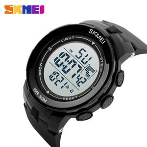 SKMEI 1127 Men Digital Sport Watch Outdoor Sports Watches Chronograph Alarm Clock Life Waterproof Utility Wristwatches Accessories