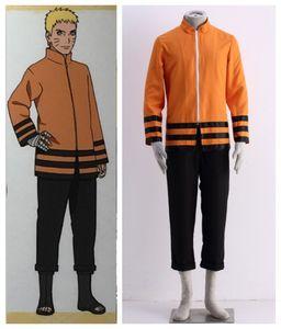 Naruto RT Naruto Uzumaki Cosplay Costumes