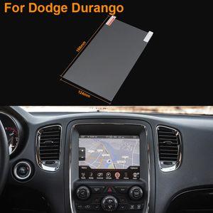 8 인치 GPS 네비게이션 스크린 스타일링 자동차 강철 보호 필름 Dodge Durango 제어 LCD 스크린 자동차 스티커