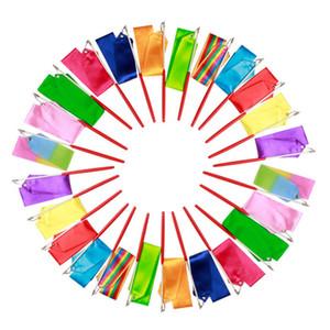 Ритмическая гимнастика Gimnasia Ritmica RG ленты 4 метра ребенок для взрослых реквизит танцевальная палка 5см ширина спортивные эквипммут цвета