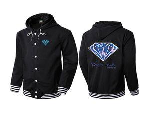 diamante fornitura co 2017 Hot Fashi sulla primavera uomo autunno Hoodie pullover sportswear hip hop felpa diamante fornitura co felpe