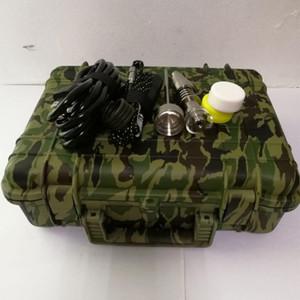 Novo Pelicano E Kit de Prego Digital elétrica Dab unha universal DNail conjunto para 10 16 20mm titanium bong de tubulação de água Ecigs Kit Vaporizador