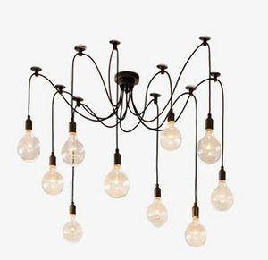 Старинные Подвесные Светильники RH Loft ретро Эдисон лампы Подвесные светильники Творческий паук светильник 110 В-240 В Бесплатная доставка