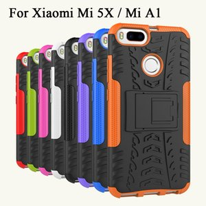 Telefonabdeckung für xiaomi a1 case hybrid rüstung case schwere schutz abdeckung für xiaomi mi a1 deckt gehäuse mia1