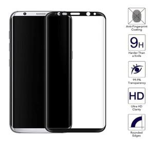 Для Samsung Galaxy S8 Plus закаленного стекла пленки протектора экрана Samsung Galaxy S9 Plus S10 Plus S10 Lite 3D Full Cover Glass