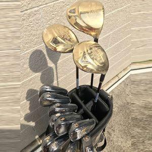 Neue Herren Golfclubs Maruman Majesty Prestigio Golf Complete Clubs Set Driver + Fairway Holz + Putter Graphit Golf Welle Kopfbedeckung Freies Verschiffen
