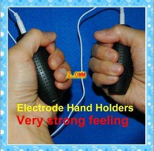 Elettrodi tens a forma di granata in silicone Body Relax Massager Elettrodo Hands Holder Decine Machine Pastiglie da laboratorio con filo