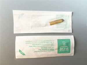 100 PCS PCD 14pin aiguilles permanente aiguille jetable Cosmétique Aiguilles À Tatouage Sourcils Lame Pour 3D À La Main Broderie Microblading