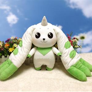 Kuscheltier Kostenloser Versand Digimon Adventure Terriermon Cosplay lange Ohr-Plüsch-Puppe-Spielzeug-Geschenk 45 cm Für Sammlung
