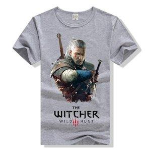 COOL Jeu Tee Regarder Pioneer Wizards 3 Lutte Gloria Geralt Perfection Hommes Femmes T-shirt À Manches Courtes En Coton