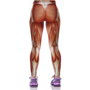 High Elastic Fashion Women Leggings Strong Muscles Printed Pants Women Compression Pantalones Mujer Pants