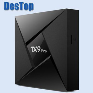 Tanix TX9 Pro Amlogic S912 Android 7.1 TV Kutusu 2.4 / 5.8 GHz WiFi Blue4.1 en ucuz S912 3 GB 32 GB kutu