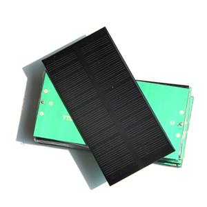 Wholesale 6V 1W Monocrystalline Solar Cell DIY Solar Panel System Charger 125*63*3MM Epoxy 50PCS Lot Free shipping