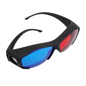 300pcs / lot Red Blue Cyan Myopia General 3D Glass for 3D Glass Movie Dvd Dimensional Free Shipping 0001