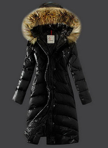 Winter long down coat with Raccoon fur collar Warm thick duck down Criss cross pleated Late autumn fashion women's clothing