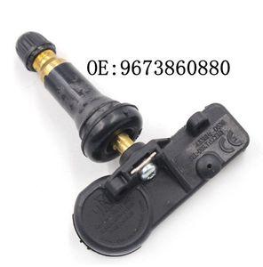 Control de la Presión 1pair original TPMS Sensor 9673860880 Neumático Neumático 433 MHz para Citroen Peugeot 307 T5 308 T7 T84 3008 5008 W24 RCZ T75