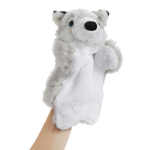 1pc Baby Plush Toy Fox Hand Puppet Baby Kids Child Animal Hand Puppet Educational Soft Doll Plush Toy Gift
