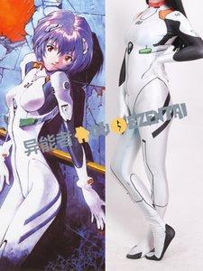 Аниме Neon Genesis Evangelion Ayanami Rei косплей костюм 3D печати Eva Rei костюм Зентаи Комбинезон женский/женщины/девушки / леди боди