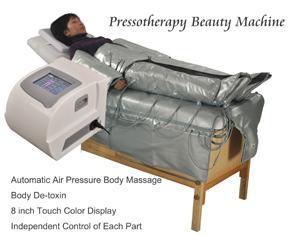 Pressotherapy Vücut Zayıflama Makinesi Hava basıncı De-toksin Güzellik Ekipmanları Kilo Kaybı Cihazı Vücut Masajı Lenfatik Drenaj