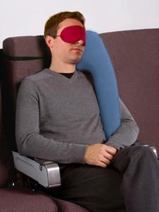 Aufblasbares Kissen Reisekissen Diverse innovative Kissen für reisende Flugzeugauto-Schlafkissen Nacken-Kinn-Kopfstütze