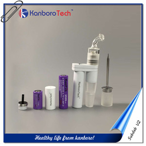 Kanboro Sabdab V2 Dual Function Vape Kit Испаритель Форсунка 510 Нить для кальяна с Tube Dual батареи на новые вывески.