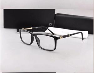 Moda Metal Dekorasyon Gözlük Marka Tasarımcısı Lüks Gözlük Çerçeve Miyopi Gözlük Çerçeve Şeffaf Lens MB0541
