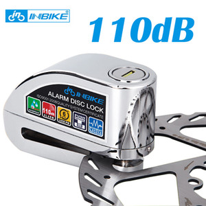 allarme bici freno a disco serratura sicurezza 110 db rumoroso blocco allarme moto antifurto Blocco bicicletta impermeabile