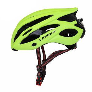 MTB Bicycle Helmet خفيفة PVC + EPS خوذة دراجة مصبوب متكامل آمن ركوب الدراجات خوذة الطريق