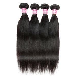 Cosy Malaysian Brazilian Straight Virgin Human Hair Brazilian Straight Human Cheap Hair Extensions 5 Bundles Natural Color Weaving