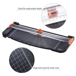 909-5 Règle de guillotine A4 Coupe-papier Coupe-bordures Noir-Orange