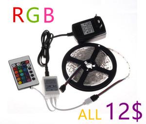 24W SMD 3528 néon de bande de la bande conduit de lumière souple Ledstrip dimmable Ambilight RGBW RGB couleur muti étanche 5m / rouleau 300 leds 12V