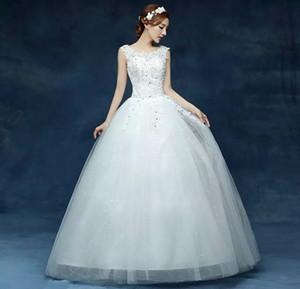 2017 de haute qualité nouveau style nouveau et élégant très belle qualité robe de mariée en vrac