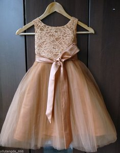NEW IVORY WHITE COLOR 들러리 유아 웨딩 파티 미인 대회 FLOWER 여자가 드레스
