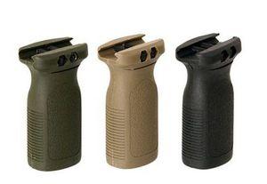 Tüfek Raylı Foregrip BK / DE için Markalama Sürümü PTS Vertical Grip fit