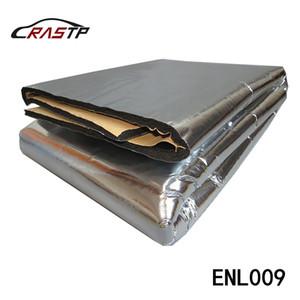 RASTP-meistverkauften Auto-Hauben-Motor Firewall Heizmatte Masse aufsSchallSchutz Aluminiumfolie Aufkleber 140 cm x100cm LS-ENL009