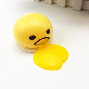 Оптово-1 кусок новизны Волшебного яйцо Tricky игрушки Gudetama Антистресс яйцо Забавные игрушки для малыша или взрослого подарок Gadget