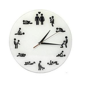 Gros-2016 nouvelle horloge murale acrylique miroir quartz montre décoration de la maison diy horloge 3d stickers salon moderne design livraison gratuite