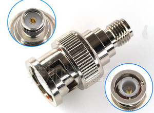 10pcs lot SMA to BNC adapter SMA female to BNC male straight connector adapter free shipping