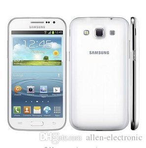 Sıcak satmak Unlocked Orijinal Samsung Galaxy Win I8552 Android 4.1 ROM 4 GB Wifi Quad Core Cep Telefonu 4.7 Yenilenmiş Cep telefonu