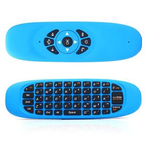 DHL корабль C120 игровой клавиатуры воздуха мышь пульт дистанционного управления с USB приемник мини беспроводная 2.4 GHz абсолютно новый inalambrico смарт-телевизор клавиатура ПК