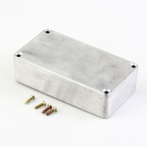 1Pcs Stomp Box Effects 1590B 1590A Style Aluminum Pedal Enclosure FOR Guitar sell free shipping
