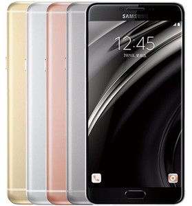 Original Samsung Galaxy C7 C7000 32GB / 64GB 16MP 5.7 polegadas Dual Sim Android 6.0 Recuperado Desbloqueado Mobile Phone