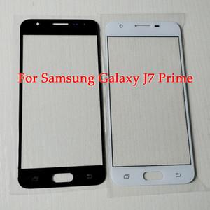 Para samsung j7 prime tela substituição parte para galaxy j5 prime frente tela de vidro do painel outer lens com ferramentas
