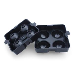 سريعة الإصدار الجليد الكرة صانع صينية مرنة pp المواد علبة مكعبات الثلج مورد ل ويسكي سكوتش Highball كوكتيل أو المسكرات نظارات